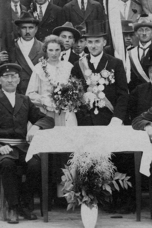 1924 Karl Reine u. Else Sonnenschein
