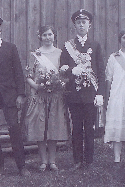 1927 Josef Kloke u. Josefine Schröder