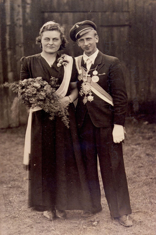 1947 Franz Geschwinder u. Josefine Widdekind