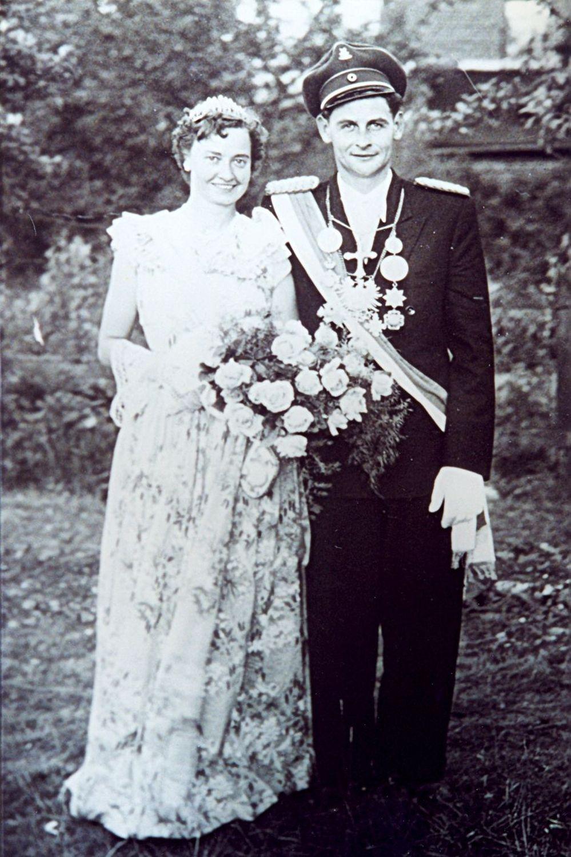 1951 Heinz Schlüter u. Paula Volpers