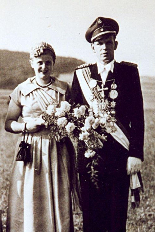 1954 Heinz Strohmeier u. Marianne Könitz