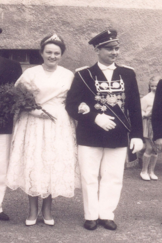 1962 Willi Hammerschmidt u. Sieglinde Reine