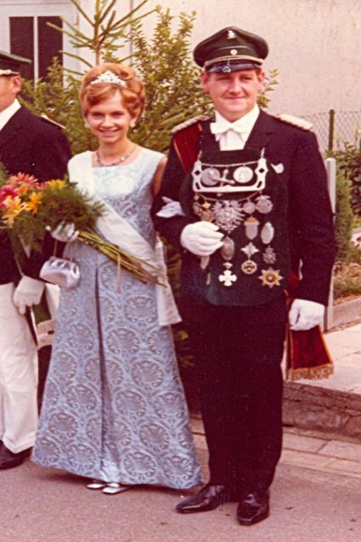 1968 Willi Jäger u. Marlene Ramspott