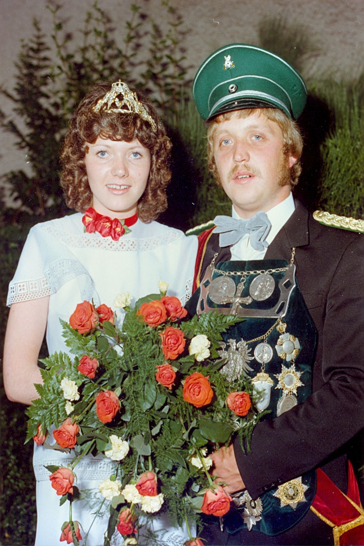 1977 Hartmut Jäger u. Waltraud Meier