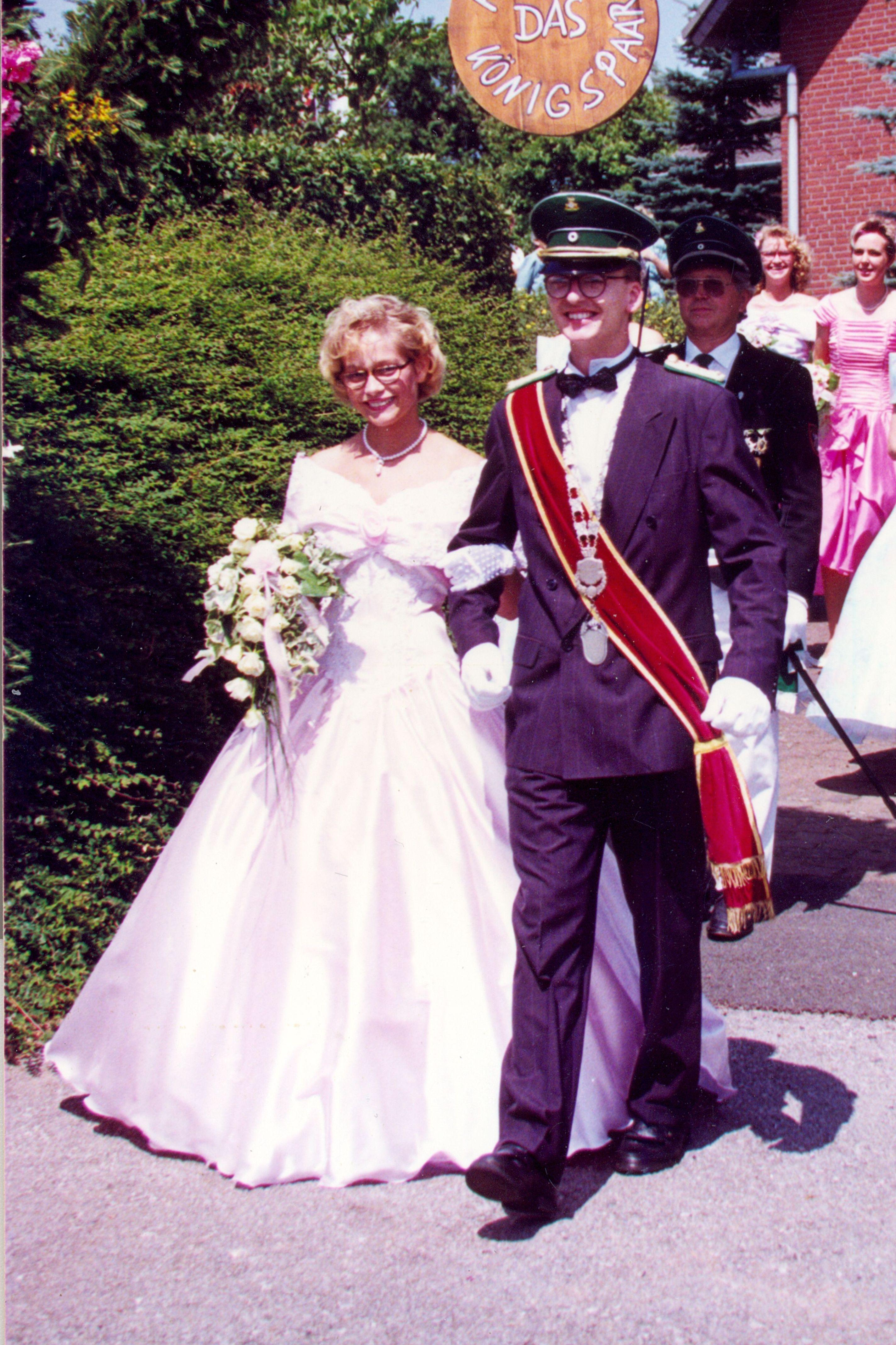 1991 Wolfgang Pohle u. Magdalena Beller
